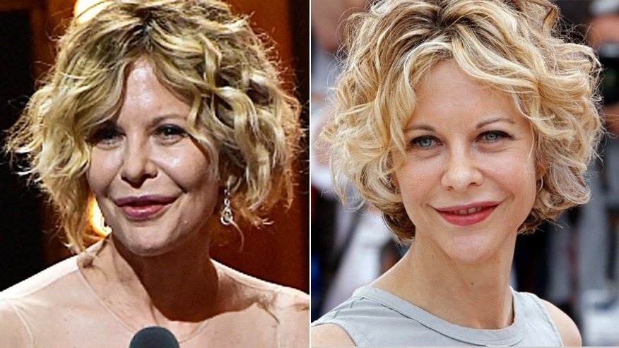 What happened to Meg Ryan's face?