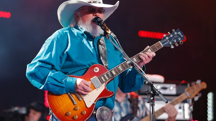 Charlie Daniels performs at the CMA Music Festival at Nissan Stadium on Thursday, June 9, 2016 in Nashville, Tenn.
