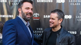 Ben Affleck, left, and Matt Damon attend The Project Greenlight Season 4 premiere of 'The Leisure Class' at The Theatre At The Ace Hotel on Monday, August 10, 2015 in Los Angeles. (Photo by Paul A. Hebert/Invision/AP)