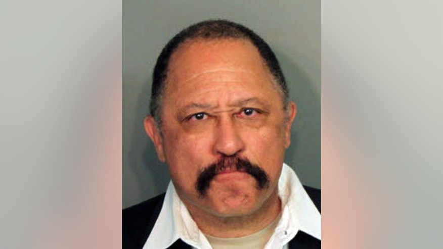 This photo provided by the Shelby County Sheriff's Office on Monday, March 24, 2014, shows Judge Joe Brown, who was arrested and charged with five counts of contempt of court in Tennessee.