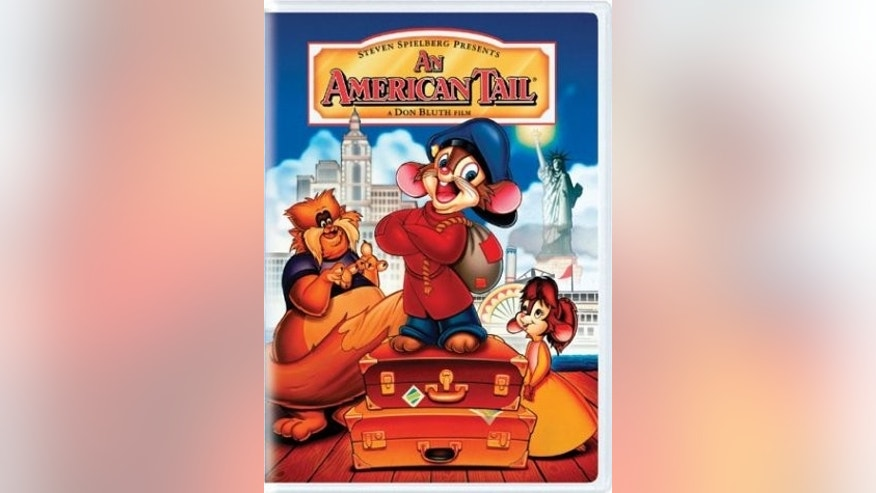 an american tail dvd cover