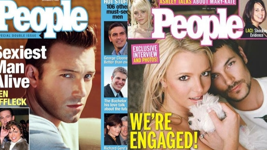 People magazine covers composite ap graphics