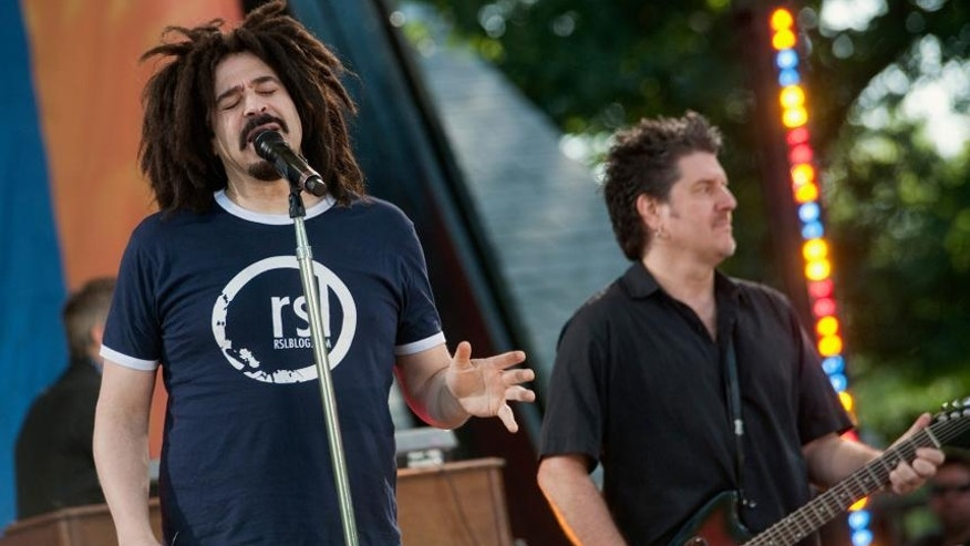 Duritz and Counting Crows performing in 2012. (Photo credit: Reuters)