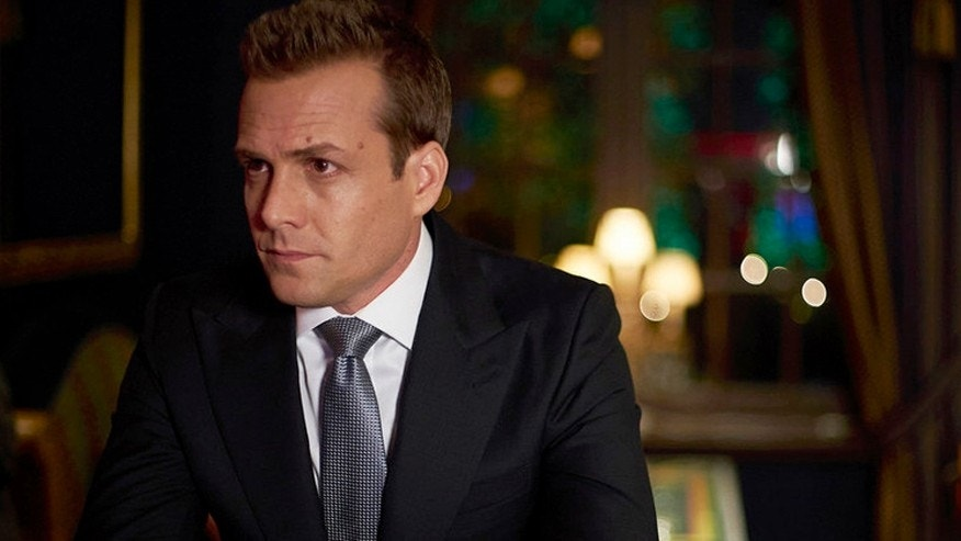 "Gabriel Macht as Harvey Specter in ""Suits."""