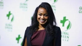 In this Feb. 18, 2015, file photo, Tatyana Ali arrives at the Global Green USA's 12th Annual Pre-Oscar Party at the Avalon Hollywood in Los Angeles.