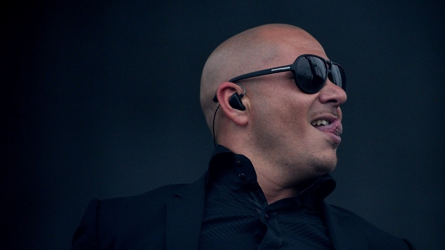 Rapper Armando 'Pitbul' Perez on May 18, 2013 in Baltimore, Maryland.