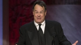 Actor Dan Aykroyd speaks at the American Film Institute's 43rd Life Achievement Award at the Dolby theatre in Hollywood, California June 4, 2015. Actor Steve Martin was honored with the award. REUTERS/Mario Anzuoni - RTX1F77A