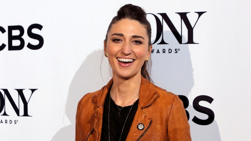Singer/Songwriter Sara Bareilles arrives for the 2016 Tony Awards Meet The Nominees Press Reception in Manhattan, New York, U.S., May 4, 2016.