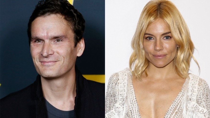 Balthazar Getty, left, and Sienna Miller.