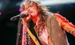 """FILE - In this June 11, 2016 file photo, Steven Tyler performs at the CMA Music Festival at Nissan Stadium in Nashville, Tenn. Tyler, a frontman for the rock band Aerosmith, released a country album, """"We're All Somebody From Somewhere."""" (Photo by Al Wagner/Invision/AP, File)"""