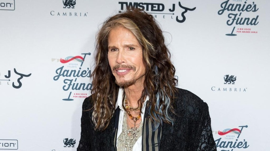 "FILE - In this May 2, 2016 file photo, Steven Tyler appears at ""Steven Tyler…OUT ON A LIMB"" event in New York. Tyler, a frontman for the rock band Aerosmith, released a country album, ""We're All Somebody From Somewhere."" (Photo by Michael Zorn/Invision/AP, File)"