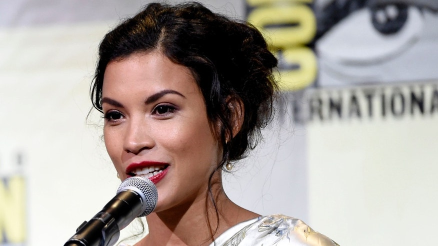 "Danay Garcia attends the ""Fear the Walking Dead"" panel on day 2 of Comic-Con International on Friday, July 22, 2016, in San Diego. (Photo by Chris Pizzello/Invision/AP)"