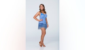 """DANCING WITH THE STARS - BINDI IRWIN - The celebrity cast of """"Dancing with the Stars"""" is lacing up their ballroom shoes and getting ready for their first dance on MONDAY, SEPTEMBER 14 (8:00-10:01 p.m., ET) on the ABC Television Network. Bindi Irwin is partnered with Derek Hough. (ABC/Craig Sjodin)"""