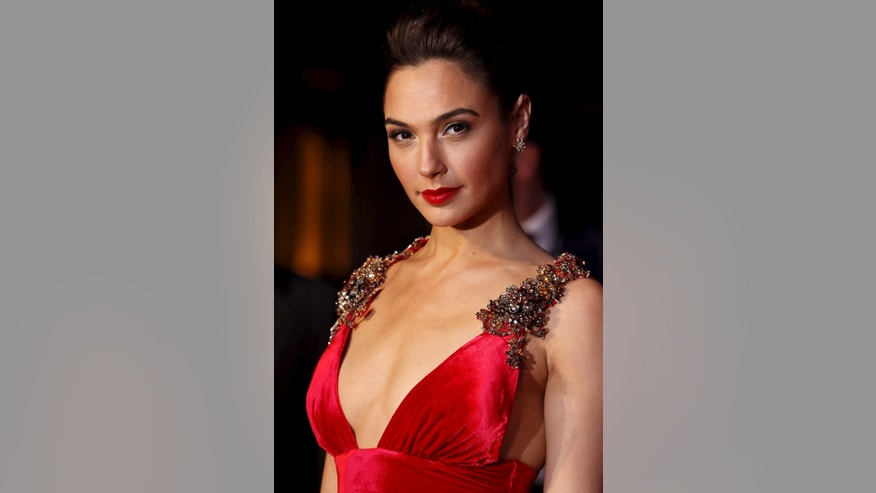 "Gal Gadot arrives for the European Premiere of ""Batman V Superman: Dawn of Justice"" in Leicester Square in London, Britain, March 22, 2016."