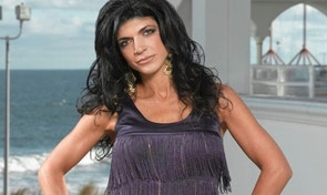 THE REAL HOUSEWIVES OF NEW JERSEY -- Pictured: Teresa Giudice -- Bravo Photo: Virginia Sherwood