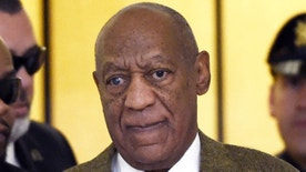 FILE - In this Feb. 2, 2016 file photo, actor and comedian Bill Cosby arrives for a court appearance in Norristown, Pa. Andrea Constand, the accuser in Bill Cosby's criminal sexual assault case in Pennsylvania wants a judge to void the secrecy clause surrounding their 2006 settlement since each side accuses the other of violating the pact. A hearing Friday, April 15, 2016 in federal court is set to weigh that issue. (Clem Murray/The Philadelphia Inquirer via AP, Pool, File)