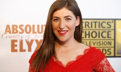 Actress Mayim Bialik.