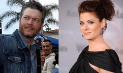 debra messing blake shelton reuters