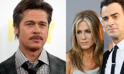 jennifer aniston justin theroux brad pitt reuters