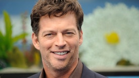 """Actor Harry Connick Jr. arrives at the movie """"Dolphin Tale"""" world premiere in Los Angeles, California September 17, 2011. REUTERS/Gus Ruelas (UNITED STATES - Tags: ENTERTAINMENT) - RTR2RGNU"""