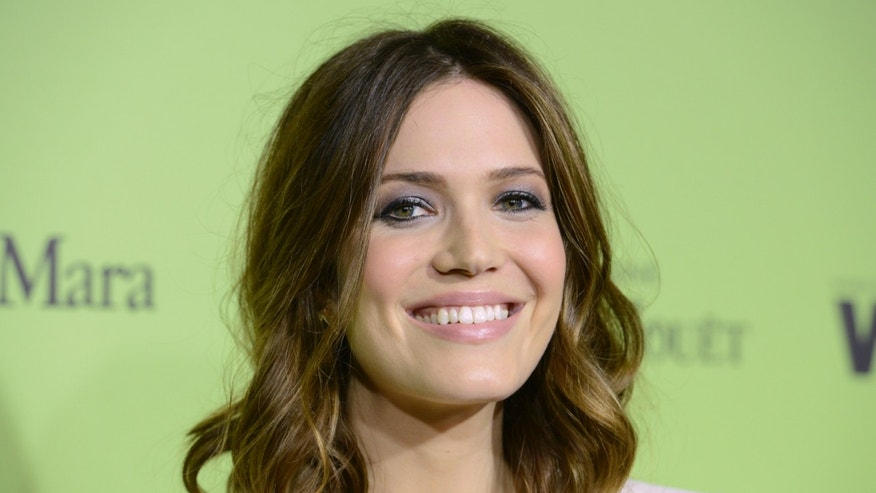 February 28, 2014. Actress Mandy Moore attends the Women in Film Pre-Oscar Cocktail Party in West Hollywood, California.