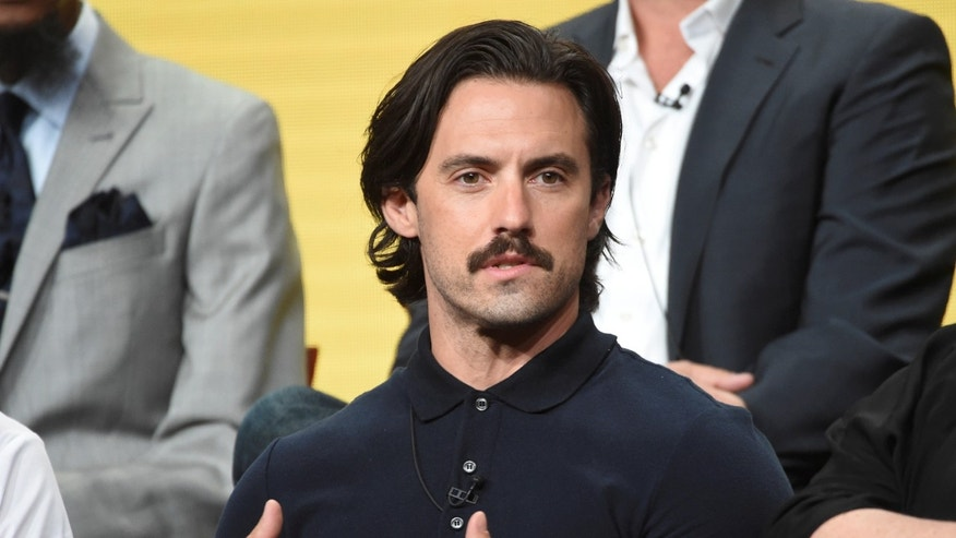 "Cast member Milo Ventimiglia answers questions during the panel for ""This Is Us"" at the NBC Universal Television Critics Association press tour in Beverly Hills, California, U.S. August 2, 2016.  REUTERS/Phil McCarten - RTSKRNN"