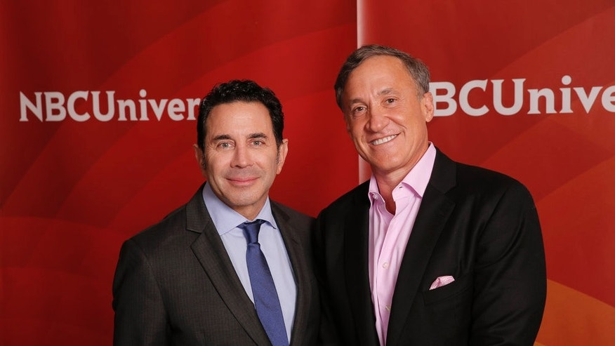 "NBCUNIVERSAL EVENTS -- NBCUniversal Summer Press Tour, August 3, 2016 -- E!s, ""Botched By Nature""  cast -- Pictured: (l-r) Dr. Paul Nassif, Dr. Terry Dubrow -- (Photo by: Chris Haston/NBCUniversal)"