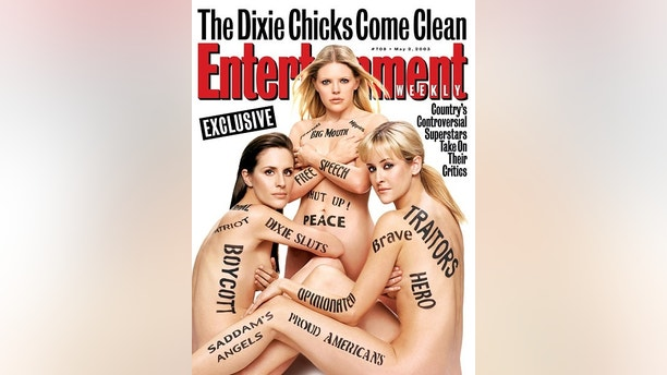 Entertainment Weekly CoverDixie Chicks Issue #708
