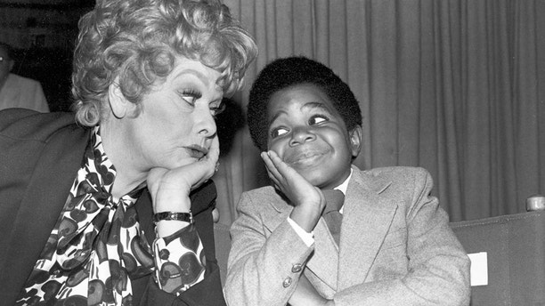 "FILE - In this Nov. 19, 1979 file photo, comedian-actress Lucille Ball, left, poses with Gary Coleman, who has a guest spot on her show, during a break in filming ""The Lucille Ball Special"" in Hollywood, Calif. The ""Diff'rent Strokes"" star Coleman fought with his parents and an ex-manager for four years over his earnings from the popular comedy series. In 1993, a judge ruled that Coleman should be awarded nearly $1.3 million from the trio after the actor claimed they skimmed his earnings from the show, which ran from 1978 to 1986. (AP Photo, File)"
