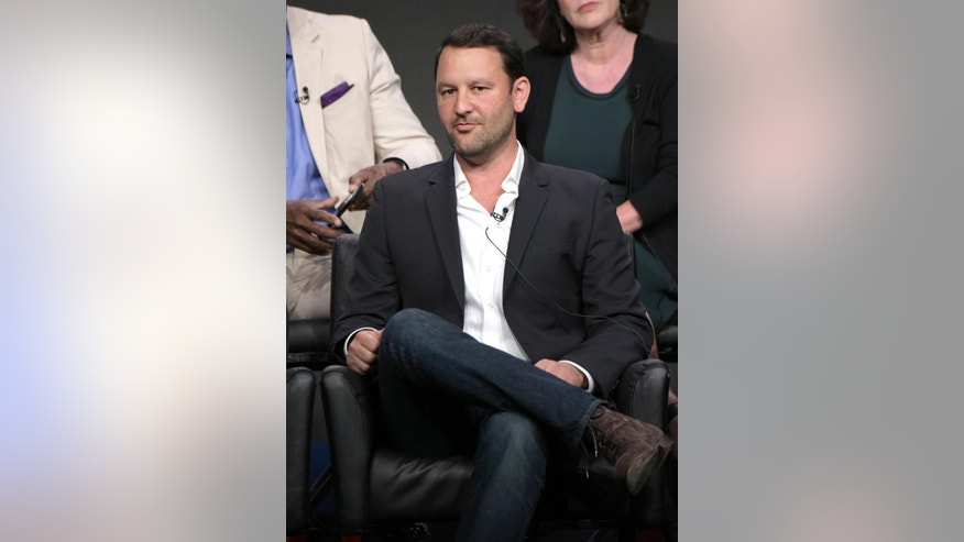 """Creator/executive producer Dan Fogelman participates in the """"Pitch"""" panel during the Fox Television Critics Association summer press tour on Monday, Aug. 8, 2016, in Beverly Hills, Calif. (Photo by Richard Shotwell/Invision/AP)"""
