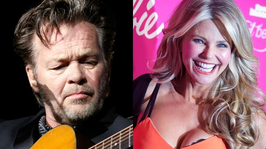 Singer John Mellencamp (left) and model Christie Brinkley.
