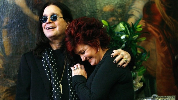 Ozzy and Sharon Osbourne.