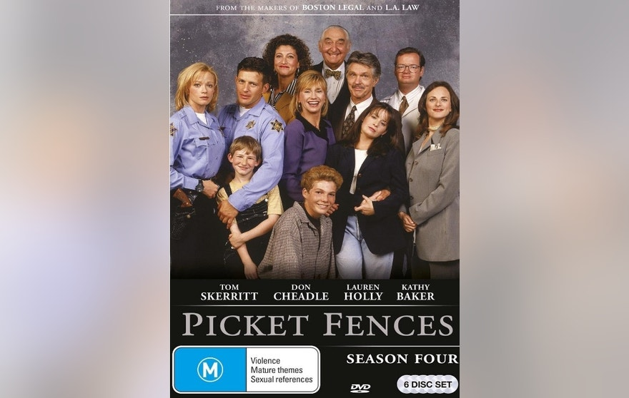 picket fences dvd import