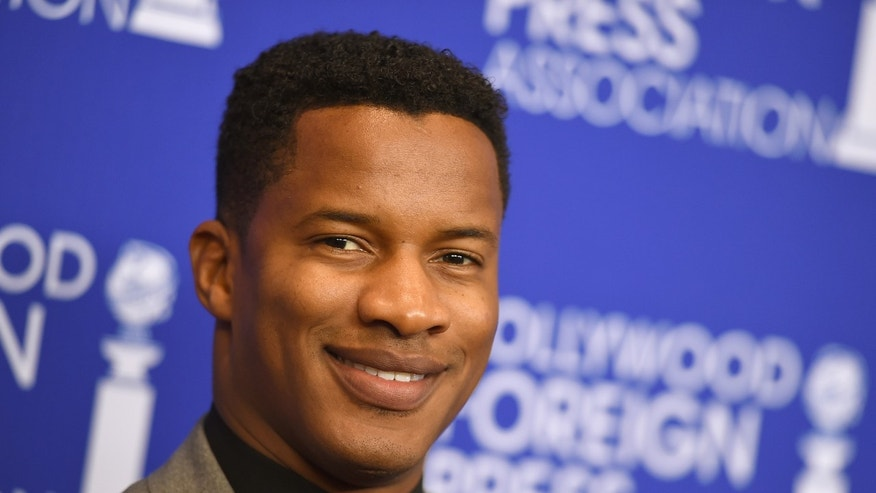In this Aug. 4, 2016 file photo, Nate Parker arrives at the Hollywood Foreign Press Association Grants Banquet in Beverly Hills, Calif.