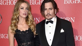 "FILE - In this Jan. 2, 2016 file photo, Amber Heard, left, and Johnny Depp arrive at the 27th annual Palm Springs International Film Festival Awards Gala in Palm Springs, Calif. Heard is withdrawing allegations that Depp physically abused her and has settled her divorce case with the Oscar-nominated actor. Heard filed for divorce in May and days later obtained a temporary restraining order accusing the ""Pirates of the Caribbean"" star of hitting her during a fight in their Los Angeles apartment in May. Depp denied he abused her, and police said they found no evidence of a crime. (Photo by Jordan Strauss/Invision/AP, File)"