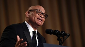 "FILE - In this April 30, 2016 file photo, Larry Wilmore speaks at the annual White House Correspondents' Association dinner in Washington. Wilmore says his ""tone didn't fit the room"" at the White House Correspondents Association dinner but believes his use of the term ""n---a"" to address President Obama may open an important dialogue for the country. The Comedy Central host said in an interview Tuesday, May 3, that he's willing to take the heat for his performance in Washington Saturday. (AP Photo/Susan Walsh, File)"