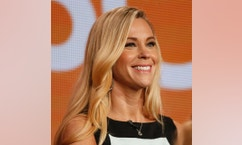 "Participant Kate Gosselin speaks about the NBC television show ""The Celebrity Apprentice"" during the TCA presentations in Pasadena, California, January 16, 2015. REUTERS/Lucy Nicholson  (UNITED STATES - Tags: ENTERTAINMENT PROFILE MEDIA) - RTR4LQTU"