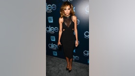 Cast member Naya Rivera attends the the 100th episode celebration of Glee in West Hollywood, California March 18, 2014. REUTERS/Phil McCarten (UNITED STATES - Tags: ENTERTAINMENT PROFILE) - RTR3HO1O