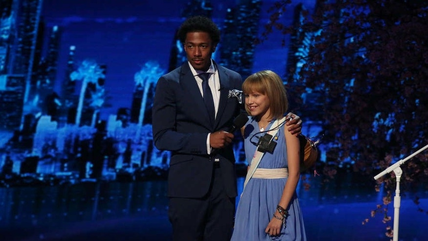Nick Cannon and Grace VanderWaal