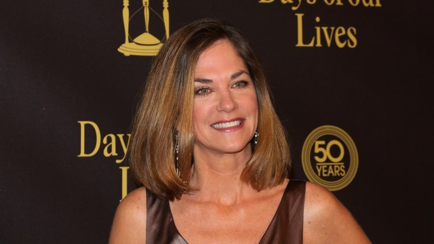"""Actress Kassie Depaiva attends the """"Days Of Our Lives"""" 50th Anniversary at the Hollywood Palladium on November 7, 2015 in Los Angeles, California."""