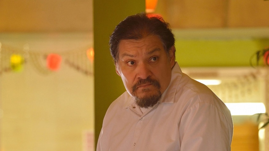 "THE STRAIN -- ""The Silver Angel"" -- Episode 204 (Airs August 2, 10:00 pm e/p) Pictured: Joaquin Cosio as Angel Guzman Hurtado. CR: Michael Gibson/FX"