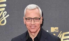 "FILE - In this April 9, 2016 file photo, Drew Pinsky arrives at the MTV Movie Awards in Burbank, Calif. Pinsky's show ""Dr. Drew,"" has been canceled by the HLN network. His last episode will air on Sept. 22.  (Photo by Jordan Strauss/Invision/AP, File)"