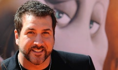 "Joey Fatone attends the premiere of the film ""Horton Hears a Who!"" in Los Angeles March 8, 2008. REUTERS/Phil McCarten (UNITED STATES) - RTR1Y2CQ"