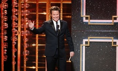 Billy Bush presents the award for outstanding supporting actor in a drama series during the 41st Annual Daytime Emmy Awards in Beverly Hills, California June 22, 2014.   REUTERS/Danny Moloshok (UNITED STATES  - Tags: ENTERTAINMENT)  (DAYTIMEEMMYAWARDS-SHOW) - RTR3V65F
