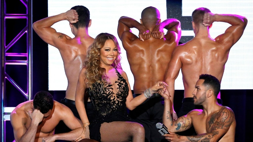 "Recording artist Mariah Carey attends a panel for the television series ""Mariah's World"" during the TCA NBCUniversal Press Tour in Beverly Hills, California U.S., August 3, 2016.   REUTERS/Mario Anzuoni     TPX IMAGES OF THE DAY      - RTSKY2J"