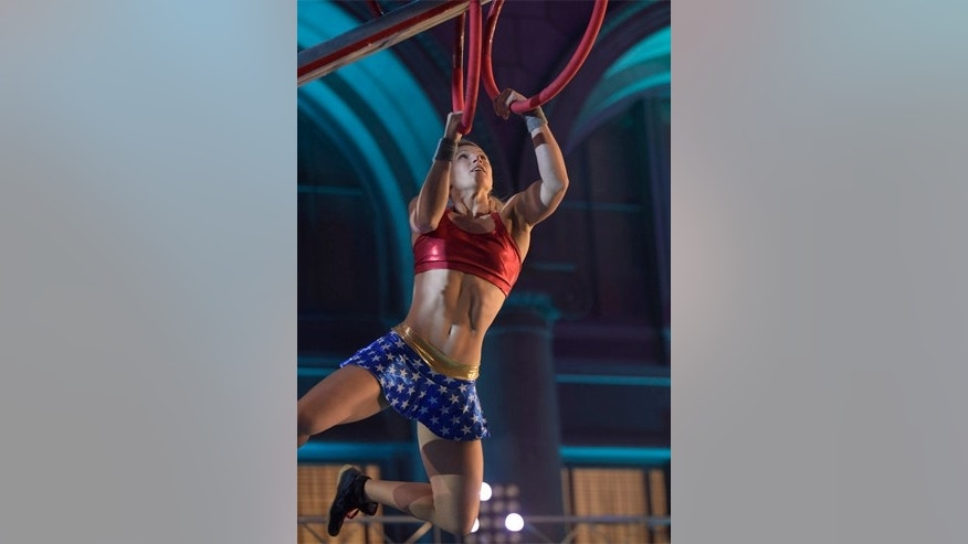 "Jessie Graff competes on an episode of ""American Ninja Warrior"" on June 1, 2016."