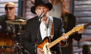 Merle Haggard performs at the 56th annual Grammy Awards in Los Angeles, California January 26, 2014.