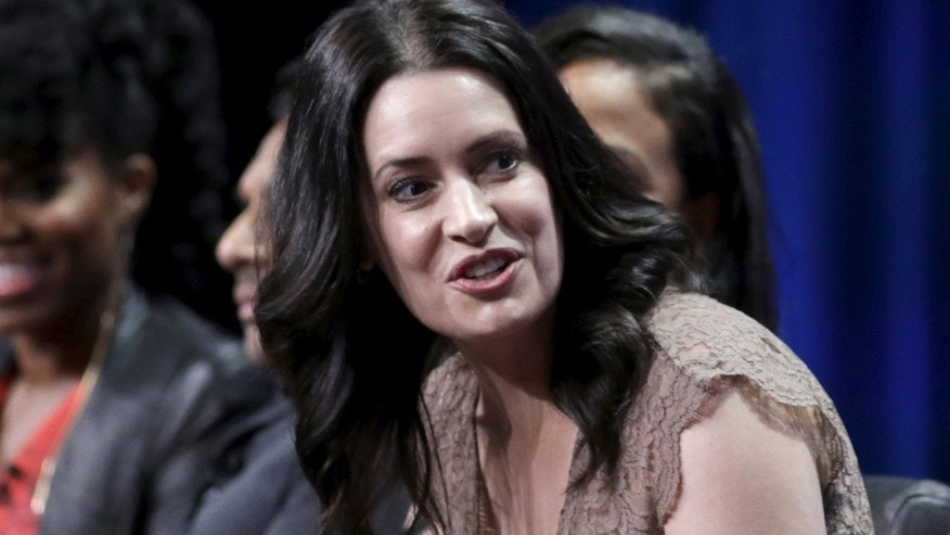 "Cast member Paget Brewster participates in the FOX ""Grandfathered"" panel at the Television Critics Association (TCA) Summer 2015 Press Tour in Beverly Hills, California August 6, 2015."