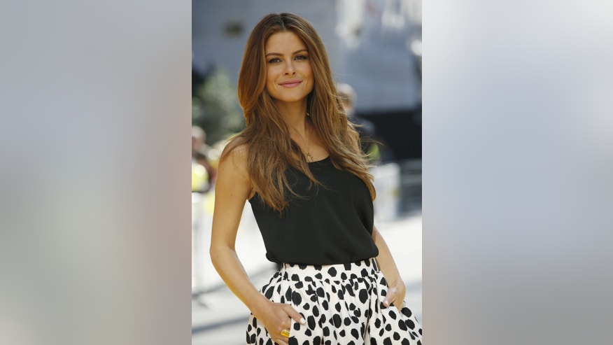 "Maria Menounos arrives for the ""Minions"" World Premiere at Leicester Square in London, Britain June 11, 2015."