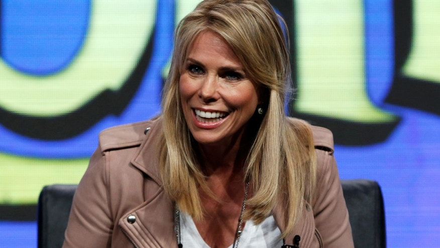 "Cast member Cheryl Hines speaks during a panel for the television animated series ""Son of Zorn"" during the TCA FOX Summer Press Tour in Beverly Hills, California U.S., August 8, 2016.   REUTERS/Mario Anzuoni - RTSLXC9"